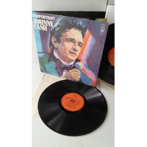 JOHNNY CASH starportrait, 67201, gatefold, 2 x vinyl
