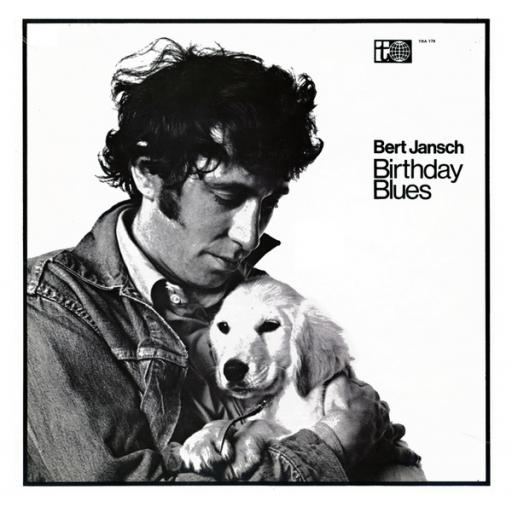 SOLD Bert Jansch BIRTHDAY BLUES. First UK pressing on the white and purple Transatlantic label, 1969