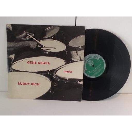 GENE KRUPA/ BUDDY RICH gene krupa meets buddy rich