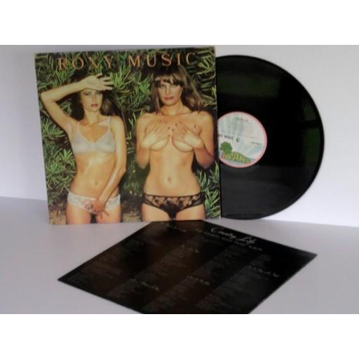 ROXY MUSIC Country Life . First UK press pink rim ISLAND 1974. [Vinyl]