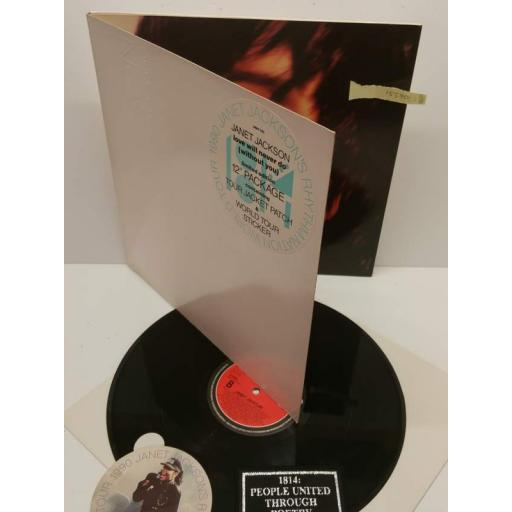 "JANET JACKSON love will never do (without you) limited edition 12"", AMX 700"