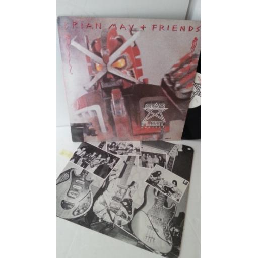 BRIAN MAY AND FRIENDS star fleet project, 12 inch mini album, SFLT 1078061