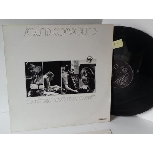GIJS HENDRIKS, BEAVER HARRIS QUARTET sound compound, YVP music 3009