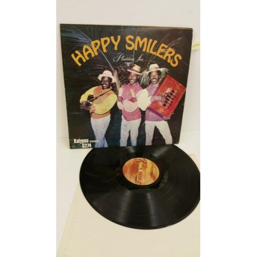 HAPPY SMILERS PLANTATION BAND plantation inn, signed copy, KALYPSO 5274