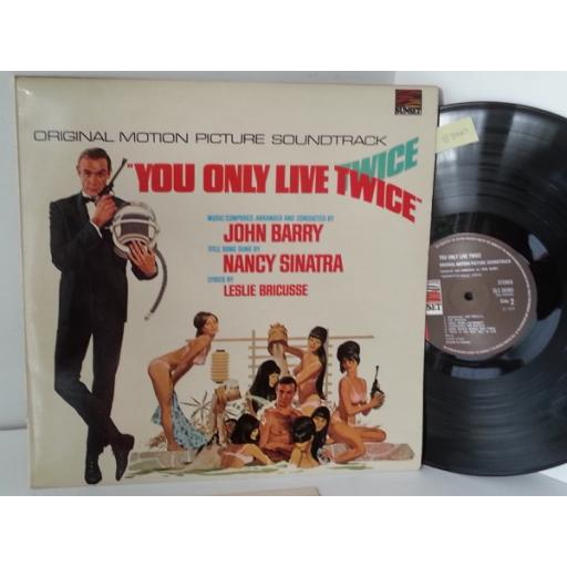 JOHN BARRY James Bond, you only live twice original motion picture soundtrack, SLS 50365