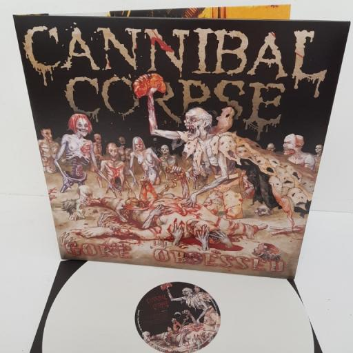 """CANNIBAL CORPSE, gore obsessed, BOBV142LP, 12"""" LP"""