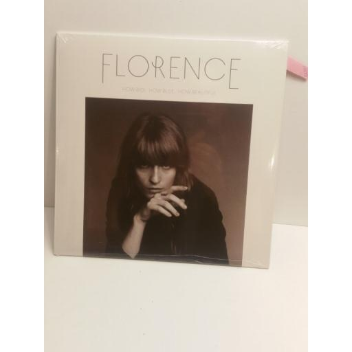 FLORENCE & THE MACHINE how big, how blue, how beautiful 0254724495
