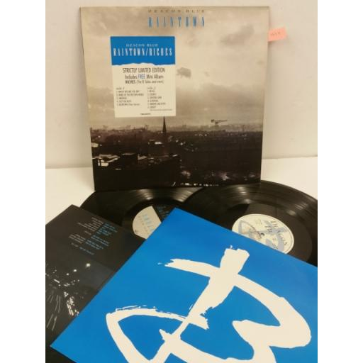 SOLD: DEACON BLUE raintown / riches, 2 x vinyl, 450549 0