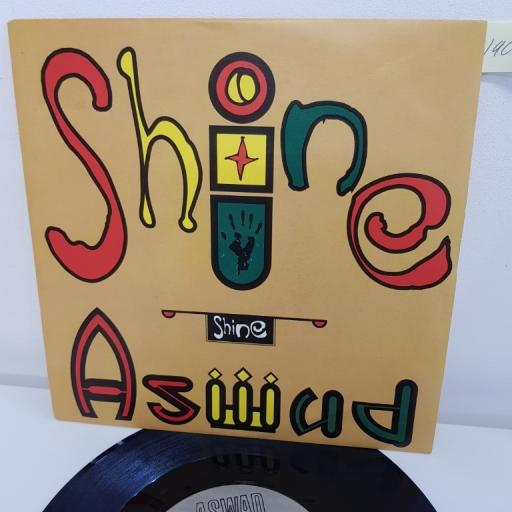 "ASWAD, shine beatmasters 7"" mix, B side pickin' up, BUBB 3, 7"" single"