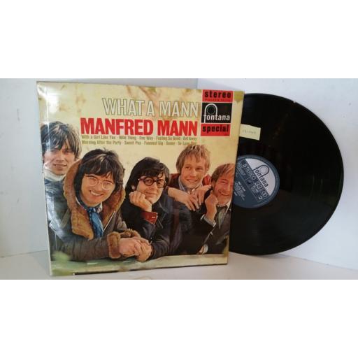 MANFRED MANN what a mann, SFL 13003