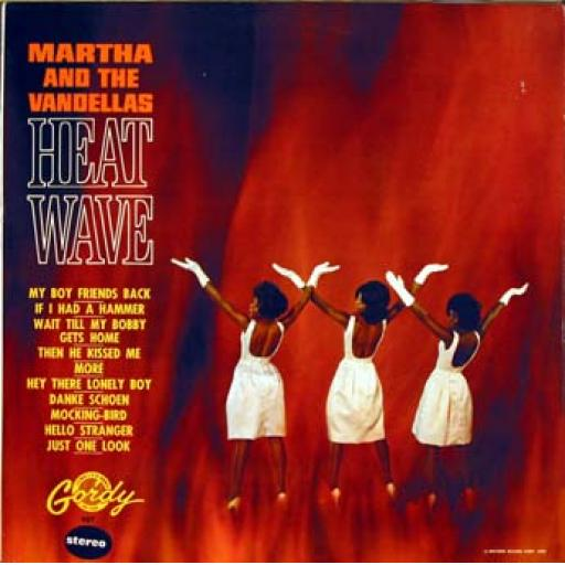 OUT OF STOCK MARTHA AND THE VANDELLAS Heat Wave