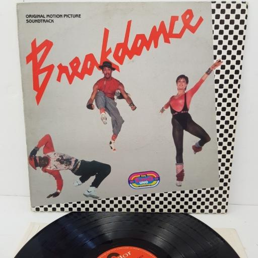 "BREAKDANCE (ORIGINAL MOTION PICTURE SOUNDTRACK), 821 919-1, 12"" LP, compilation"