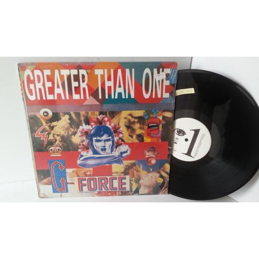 G FORCE greater than one, WAX 7100
