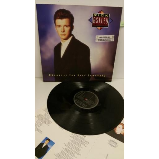 RICK ASTLEY whenever you need somebody, PL 71529