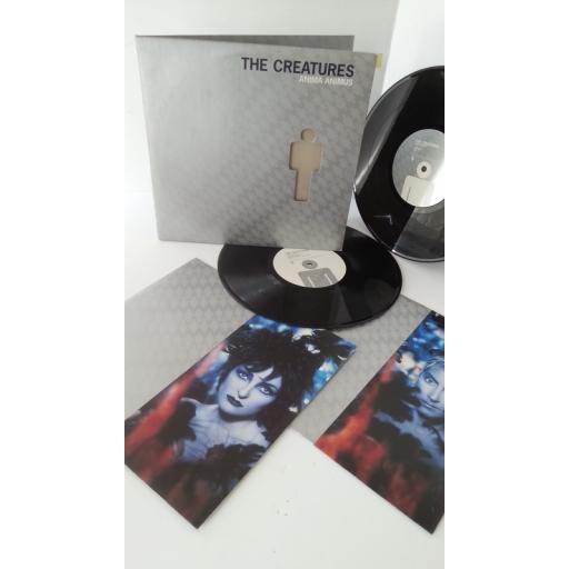 SOLD: THE CREATURES anima animus, gatefold, 2 x 10 inch vinyl, SIOUX 4V