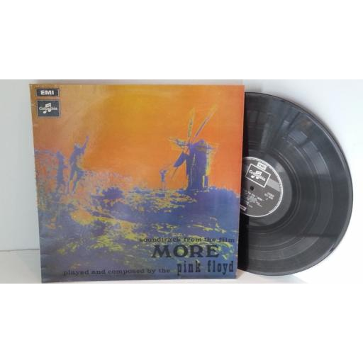 SOLD PINK FLOYD soundtrack from the film more played and composed by pink floyd, SCX 6346