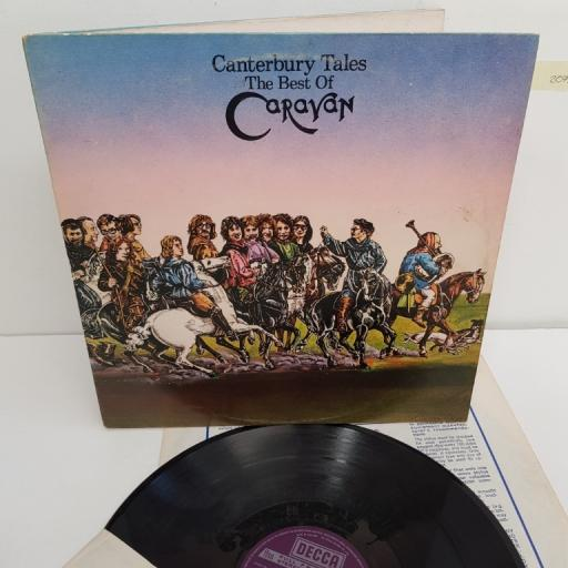 "CARAVAN, canterbury tales the best of caravan , DKL-R8/1 & 8/2, 2x12"" LP, compilation"