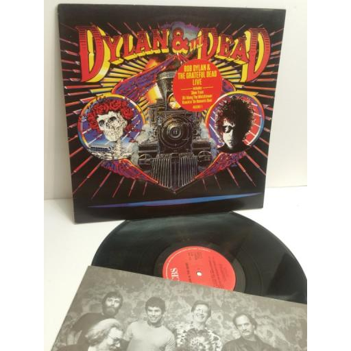 BOB DYLAN & THE GRATEFUL DEAD Live Dylan & The Dead 463381 1