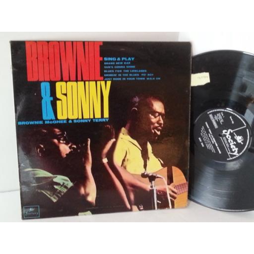 SONNY TERRY AND BROWNIE MCGHEE sing and play, SOC 1015