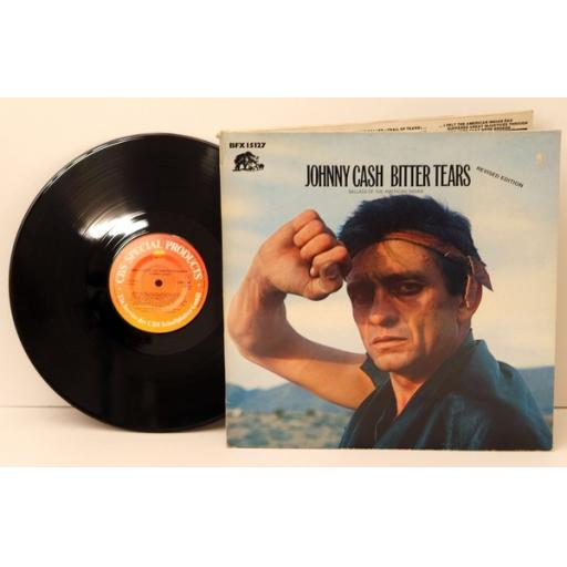 SOLD JOHNNY CASH, bitter tears, ballads of the American Indians. Great copy. Very ...