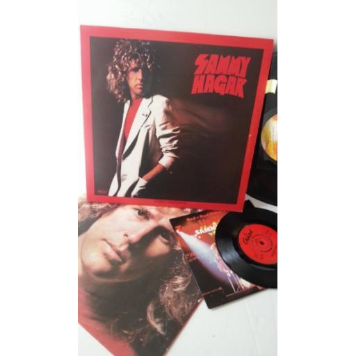 SAMMY HAGER street machine, E-ST 11983, includes 7 inch single turn up the music