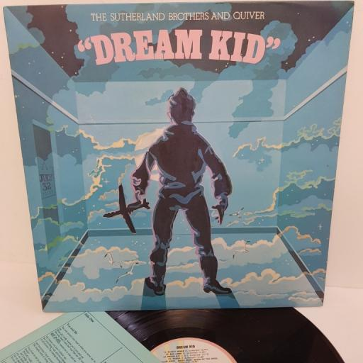 "THE SUTHERLAND BROTHERS AND QUIVER, dream kid, ILPS 9259, 12"" LP"