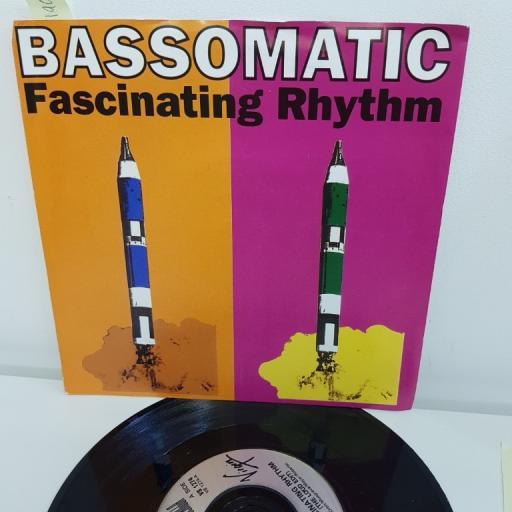 "BASSOMATIC, fascinating rhythm loud edit, fascinating rhythm soul odyssey mix, VS 1274, 7"" single"