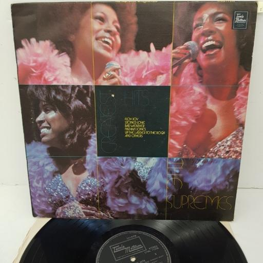 "THE SUPREMES, greatest hits, STML 11256, 12"" LP, compilation"