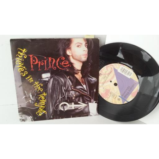 PRINCE thieves in the temple, 7 inch single, W 9751