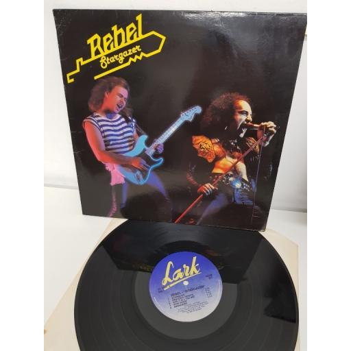 "REBEL, stargazer, INL 3554, 12"" LP"