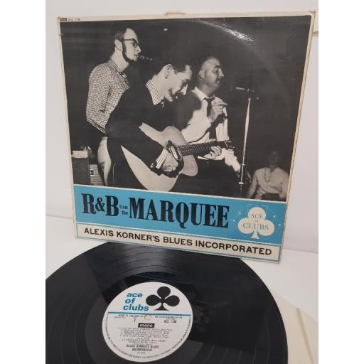 """ALEXIS KORNER'S BLUES INCORPORATED, R&B from the marquee, ACL 1130, 12"""" LP"""