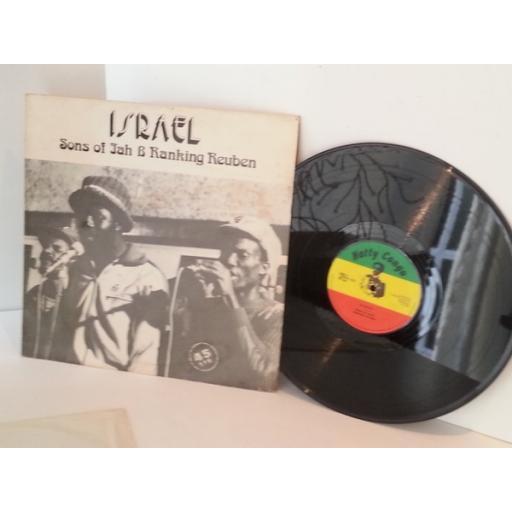 SONS OF JAH, RANKING REUBEN israel,dubsco, vinyl 12 inch