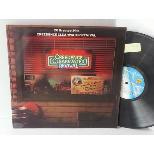 CREEDENCE CLEARWATER REVIVAL 20 greatest hits, FT 558