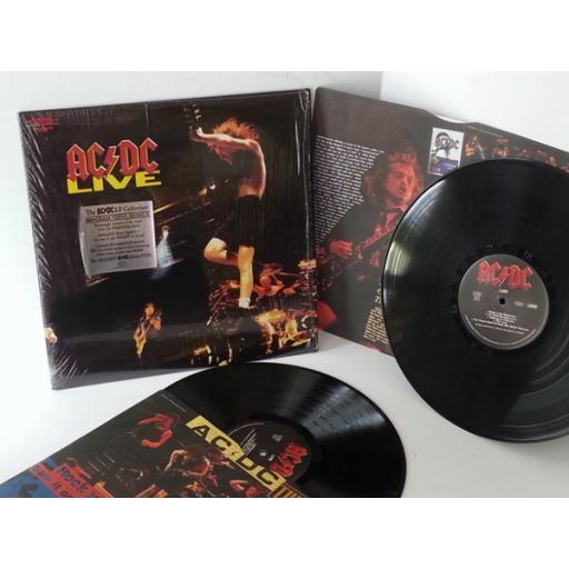 SOLD: ACDC live, 2 x vinyl, gatefold, E2 90553