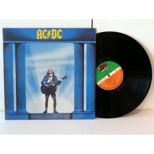 AC/DC, WHO MADE WHO