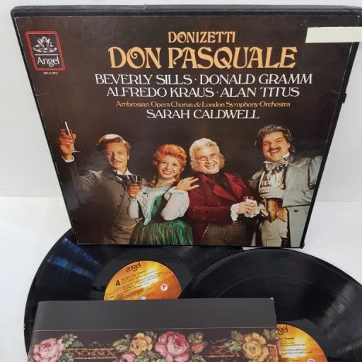 "GAETANO DONIZETTI, don pasquale, SBLX-3871, 2x12"" LP, box set"