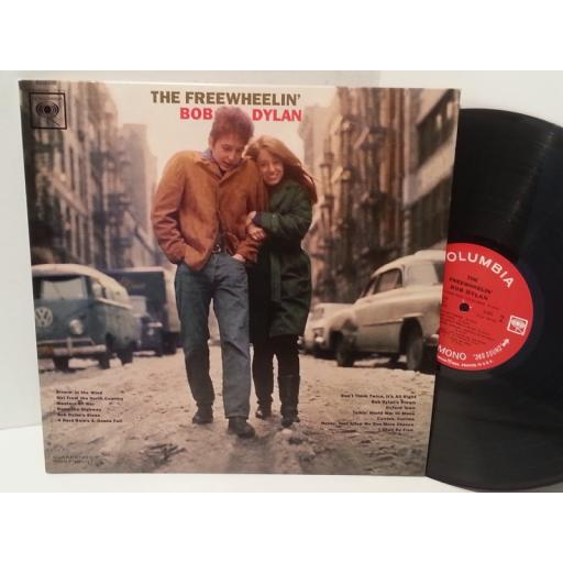 BOB DYLAN the freewheelin' bob dylan, LP 5115