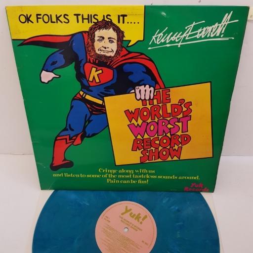 "KENNY EVERETT, the world's worst record show, NE 1023, 12"" LP, compilation"