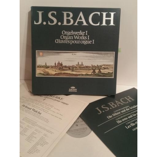 J. S. Bach Organ Works 1 Helmut Walcha - Archiv 2722 014 8 lp Box Set