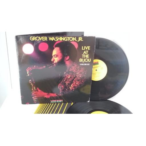GROVER WASHINGTON JR live at the bijou, gatefold, double album, KX 3637 M2