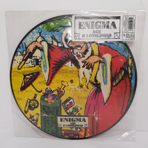 ENIGMA - Age Of Loneliness, side A age of loneliness enigmatic club mix, side B age of loneliness jam and spoon remix, PICTURE SLEEVE, 7243 8 92525 0 7, 12''LP