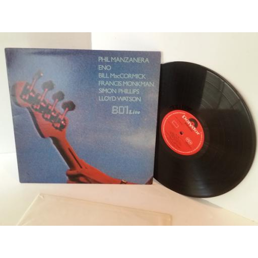 801 801 LIVE featuring ENO and Phil Manzanera