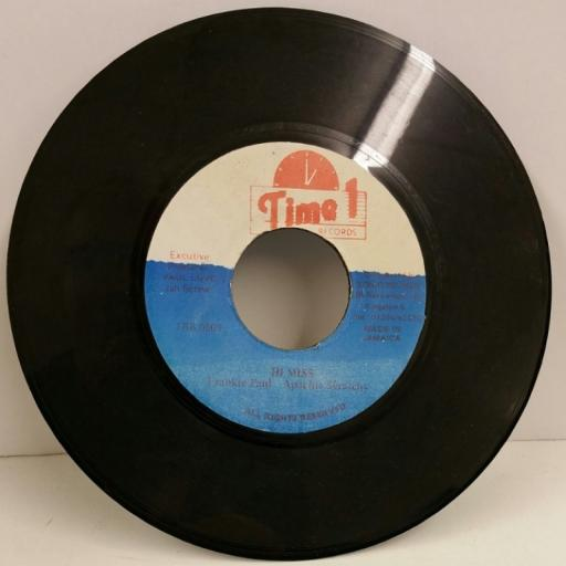 FRANKIE PAUL hi miss, 7 inch single