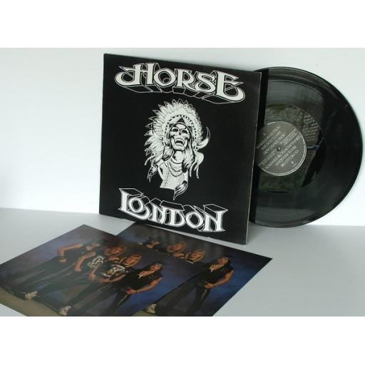 HORSE London Top copy. First UK pressing. 1989.