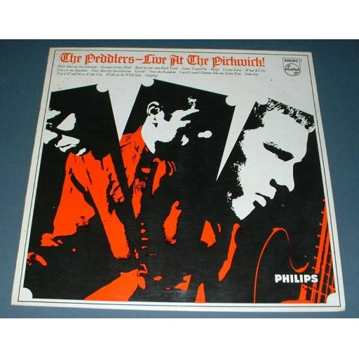 "THE PEDDLERS, live at the pickwick!, SBL 7768, 12"" LP"