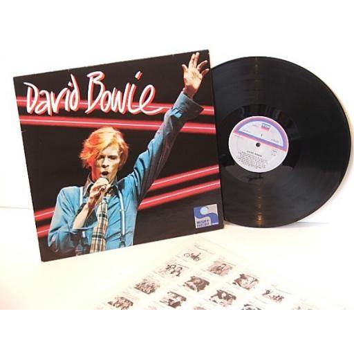 DAVID BOWIE, musik