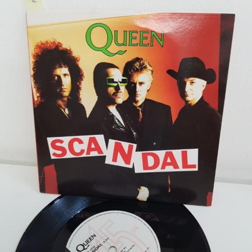 "QUEEN, scandal, B side my life has been saved, QUEEN 14, 7"" single"