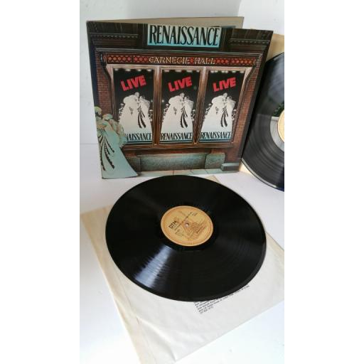 RENAISSANCE live at carnegie hall, 2 x lp, gatefold, BTM 2001