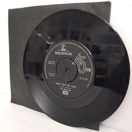 "THE BEATLES, can't buy me love, B side you can't do that, R 5114, 7"" single"