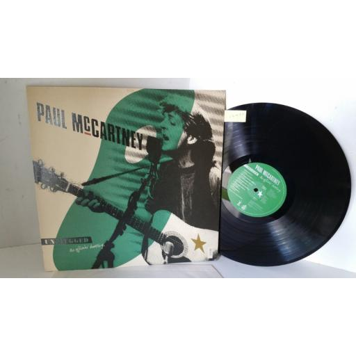 SOLD: PAUL MCCARTNEY unplugged the official bootleg, PCSD 116